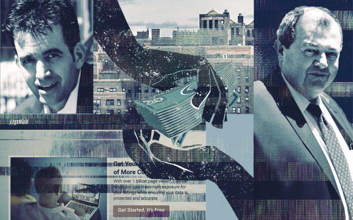 Leasebreak's Phil Horigan and REBNY's James Whelan (Linkedin, Facebook/REBNY, iStock)