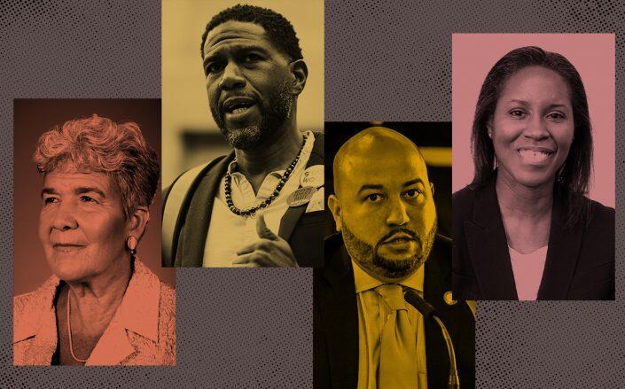 Marisa Lago, Jumaane Williams, Rafael Salamanca Jr. and Louise Carroll (Getty, NYC Planning, NYC HPD)