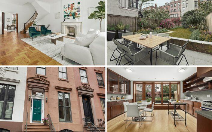 The $5.3 million Brooklyn Heights house (Compass)