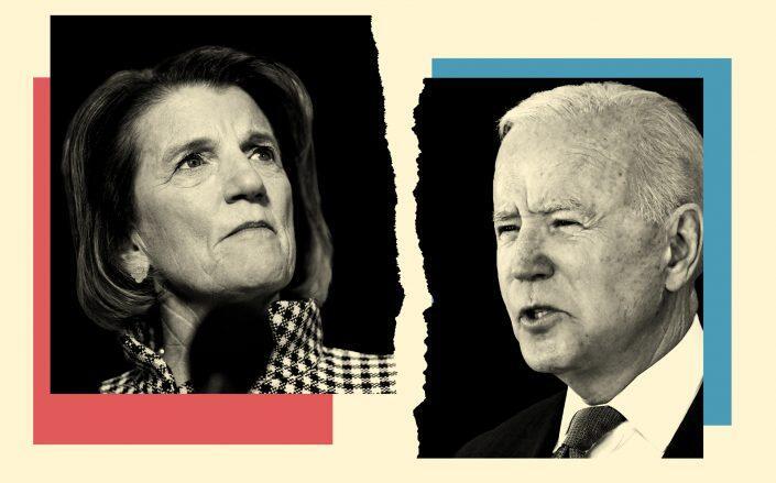 Senator Shelley Moore Capito and President Joe Biden (Getty)