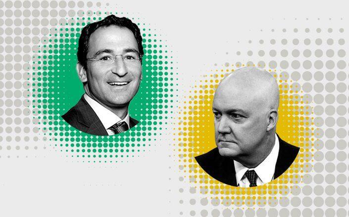 Blackstone CEO Jon Gray and Home Partners of America CEO Bill Young (Blackstone, Owler)
