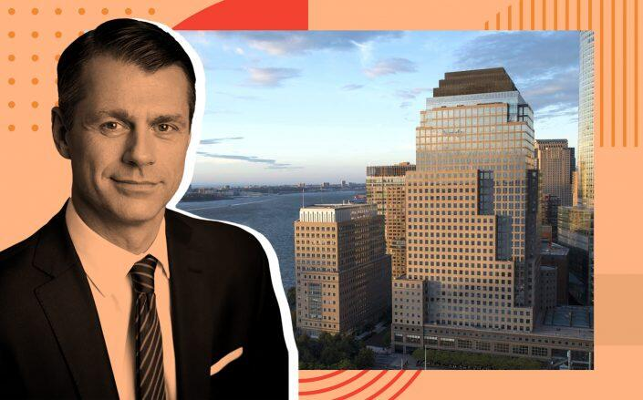 Brookfield Property Partners CEO Brian Kingston and 300 Vesey Street (Brookfield)