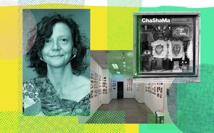 Anita Durst and images of Chashama (Photos via Getty, Chashama)