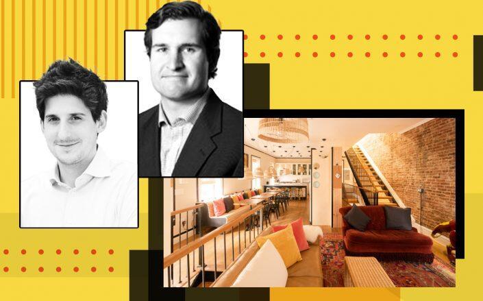 Cohabs' CEO Youri Dauber and James Grasso (Twitter, LinkedIn)