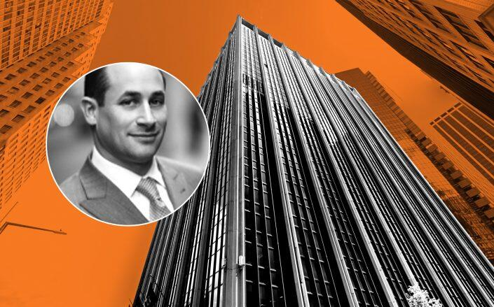 Nightingale's Eli Schwartz and 111 Wall Street (Credit: Google Maps)