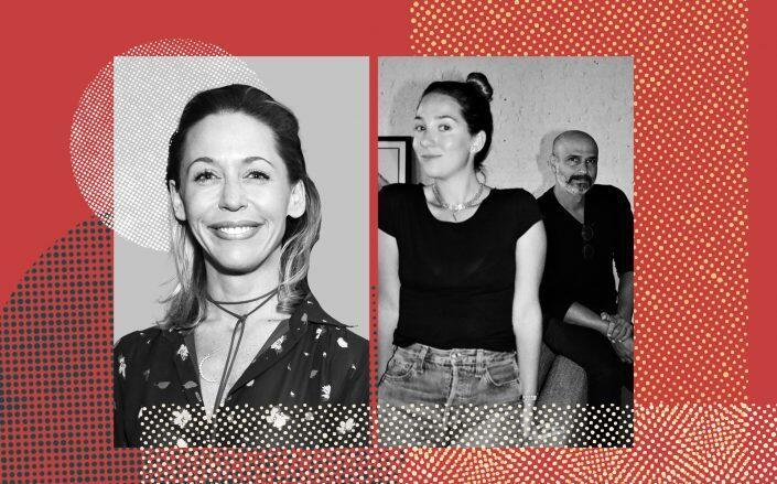 Nicole Oge, Casa Blanca founders Hannah Bomze and Erez Zaurer (Getty, Casa Blanca)