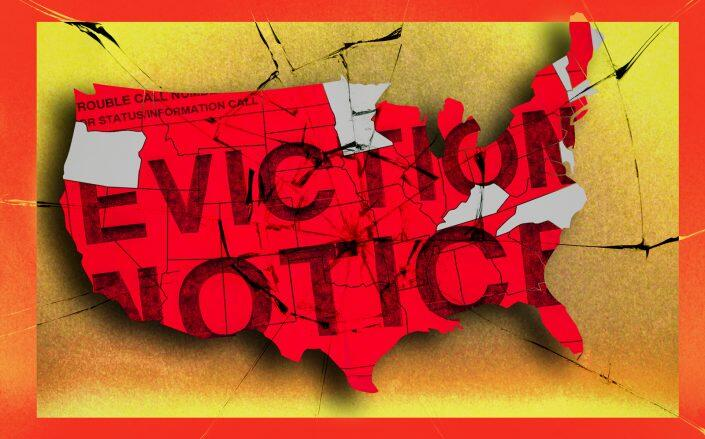 Seven states will lift their eviction bans next month, and the cases to follow will offer a glimpse of the onslaught to come. (iStock)