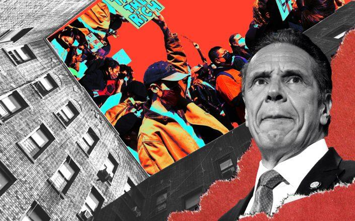 Gov. Andrew Cuomo (Getty/Illustration by Kevin Rebong)