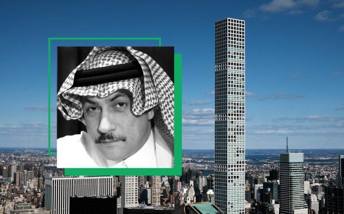 Fawaz Al Hokair and 432 Park Avenue (International Institute for Iranian Studies, Getty)