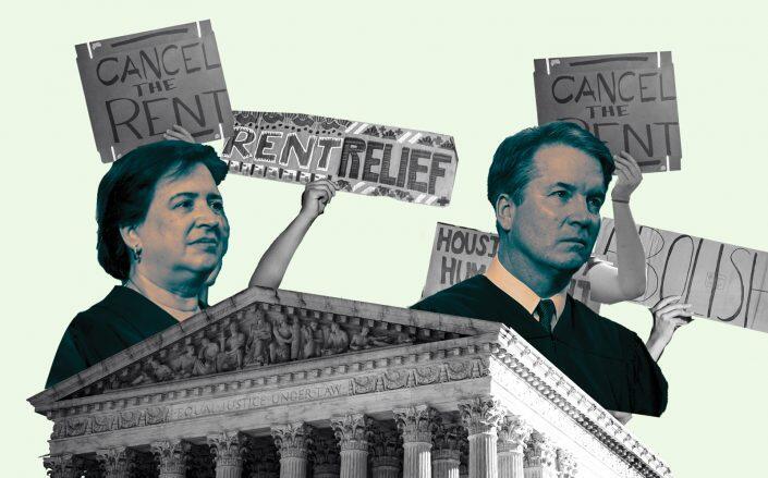 Supreme Court Justices Elena Kagan and Brett Kavanaugh (Getty)