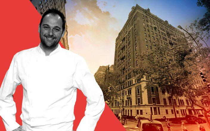 Daniel Humm and 40 Fifth Avenue (Getty, Google Maps)