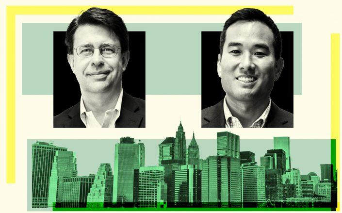 NYCEEC co-CEOs Curtis Probst and Fred Lee (iStock, NYEEC)