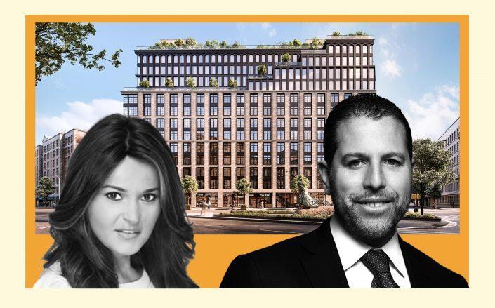 300 West 122nd Street, Bespoke Living's Rachel Medalie and Madison Realty Capital's Josh Zegen (StreetEasy, Douglas Elliman)