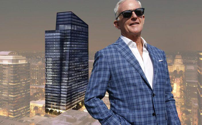 John Kilroy and the Indeed Tower (Getty, Page Southerland Page)