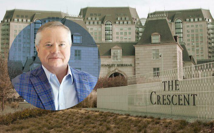 Crescent Real Estate chairman John Goff and Crescent Court (Crescent)