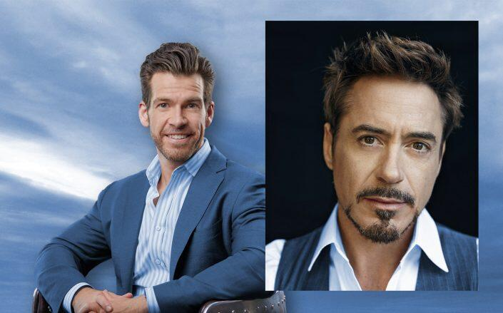 Fifth Wall's Brendan Wallace and actor Robert Downey Jr. (Getty)
