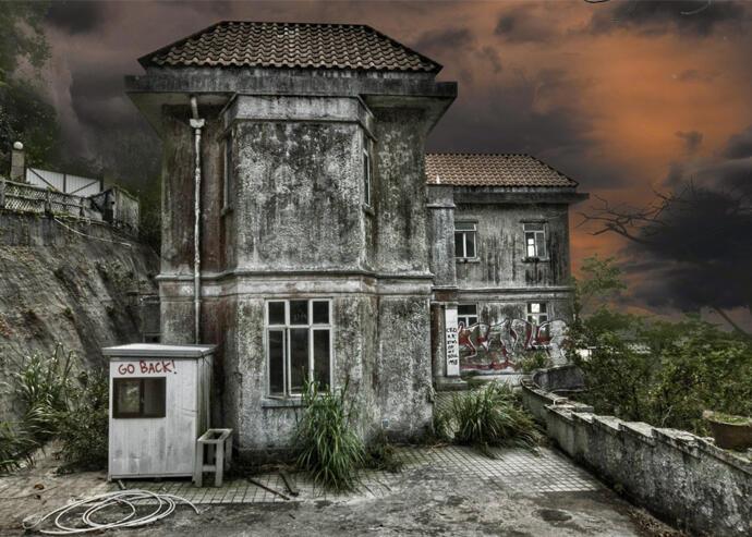 Hong Kong's Dragon Lodge. (HK Urbex)