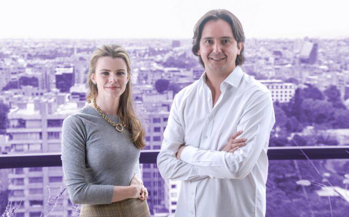 Habi cofounders Brynne McNulty Rojas and Sebastian Noguera Escallón (Habi)