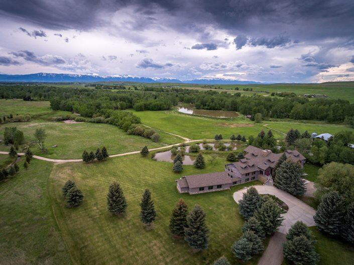 Sanctuary Ranch outside of Billings, Montana, a nearly 900-acre property that Paul and Roberta Johnson bought in late December. (Hall and Hall)