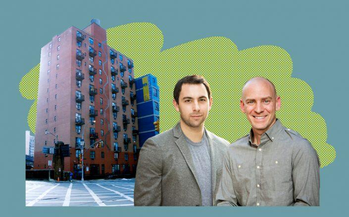 Camber Property Group Principals Andrew Moelis and Rick Gropper with 440 West 41st Street (Caro Enterprises, Inc.)
