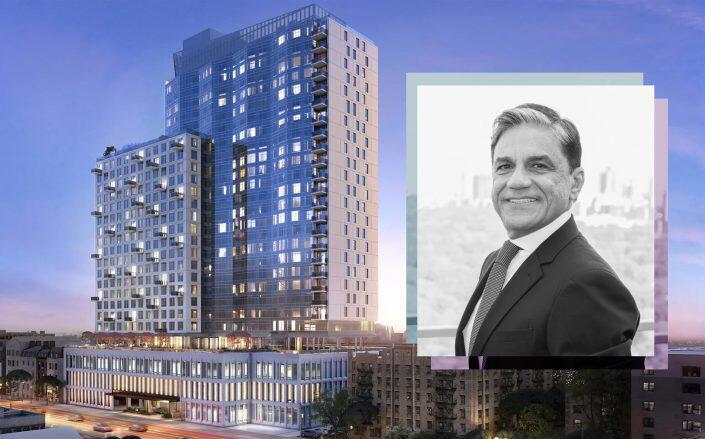 Joe Moinian with 123 Linden Blvd (The Moinian Group)