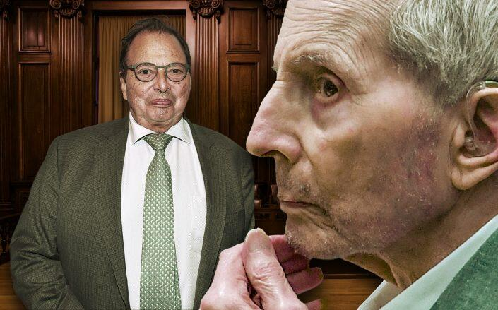Douglas Durst and his brother Robert Durst (Getty)