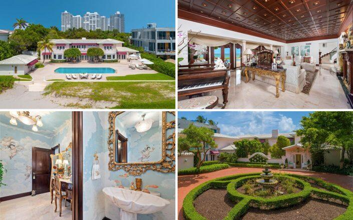 The Golden Beach property (Compass / One Sotheby's International Realty)