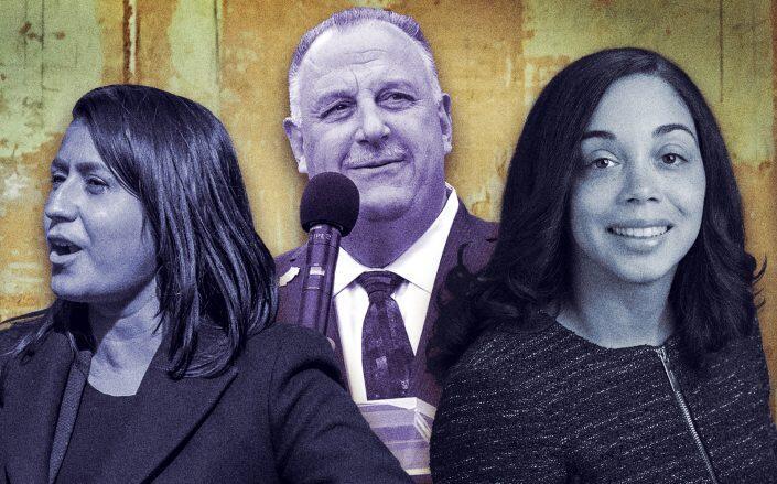 Jessica Ramos, Gary LaBarbera and Latoya Joyner. (Getty, Facebook via Joyner)