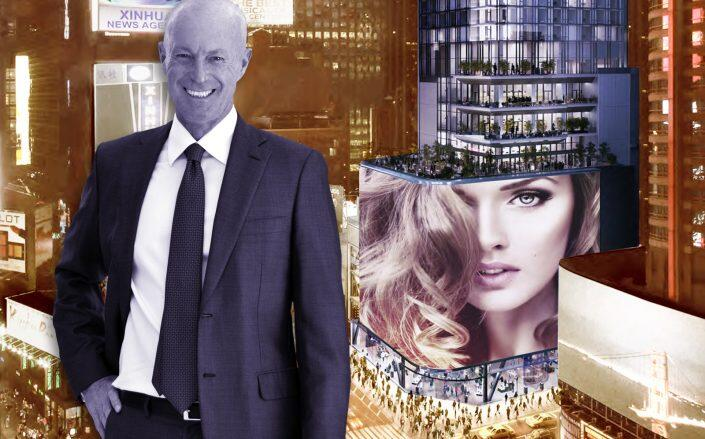 Maefield CEO Mark Siffin with 20 Times Square (20 Times Square)