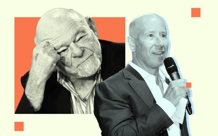 Sam Zell of Equity Commonwealth and Barry Sternlicht of Starwood Capital Group (Getty)