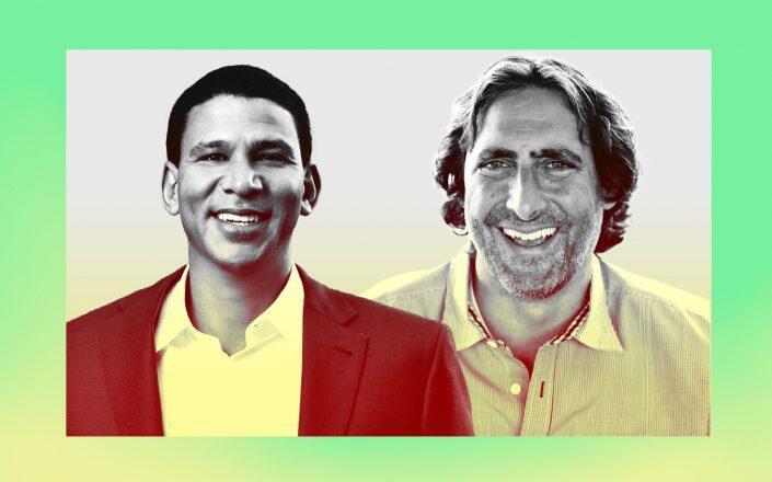 Compass CEO Robert Reffkin and Guaranteed Rate CEO Victor Ciardelli
