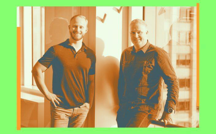 Sundae co-founders Josh Stech and Andrew Swain (Sundae via LinkedIn)