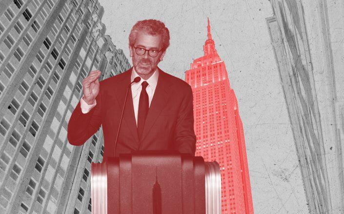 Empire State Realty Trust CEO Tony Malkin (Getty, iStock)