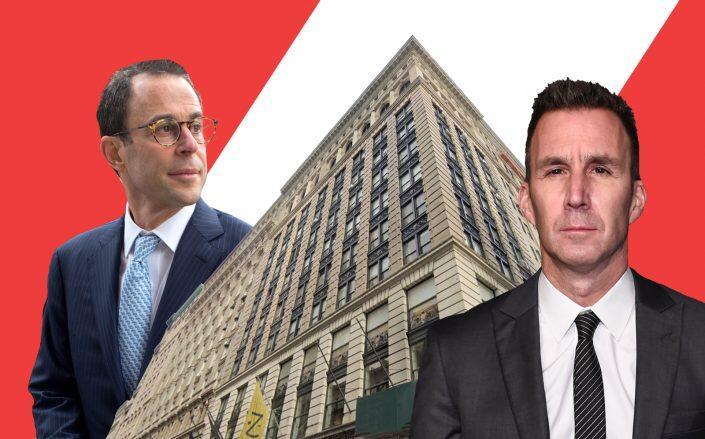 Related CEO Jeff Blau, 568 Broadway and Equinox CEO Harvey Spevak (Getty, Google Maps)
