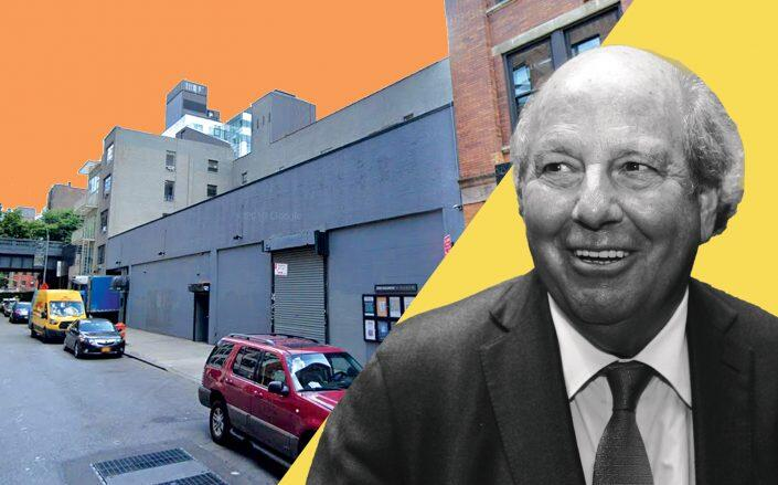520-530 West 25th Street and Feil Organization CEO Jeffrey Feil (Google Maps)