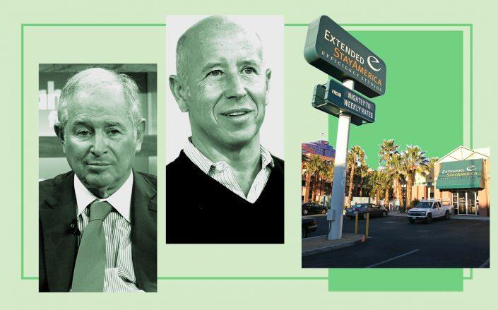 Blackstone CEO Stephen Schwarzman and Starwood CEO Barry Sternlicht (Getty)