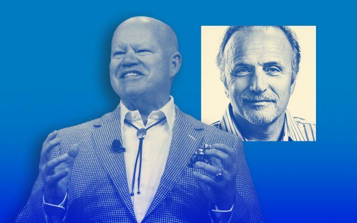 Brad Inman and Beringer Capital's Perry Miele (Inman, Beringer)
