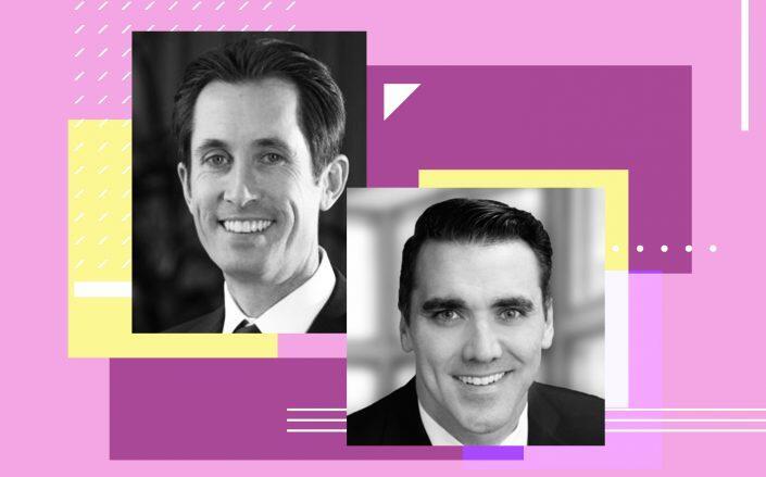 Invitation Homes CEO Dallas Tanner and PulteGroup Ryan Marshall (Invitation Homes, LinkedIn)