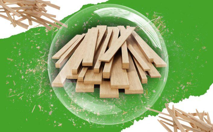 Lumber futures tanked by more than 40 percent in June as demand eased and supply grew, lowering prices. (iStock)