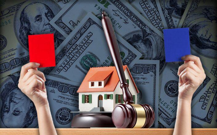 Bidding wars for homes decline across United States