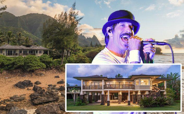 Red Hot Chili Peppers' Anthony Kiedis asks $10M for Hawaii retreat