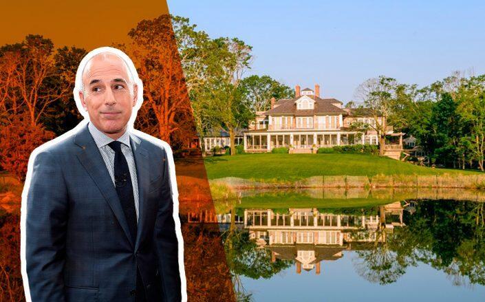 Matt Lauer exposes Hamptons estate to the market