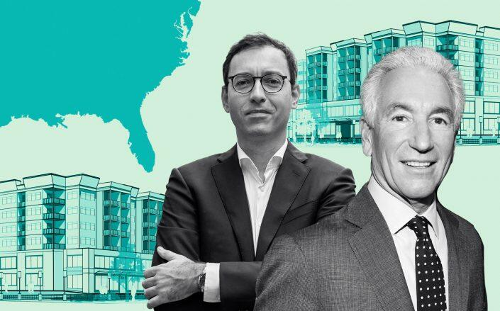 Kushner Companies' Laurent Morali and Charlie Kushner (iStock, Getty)