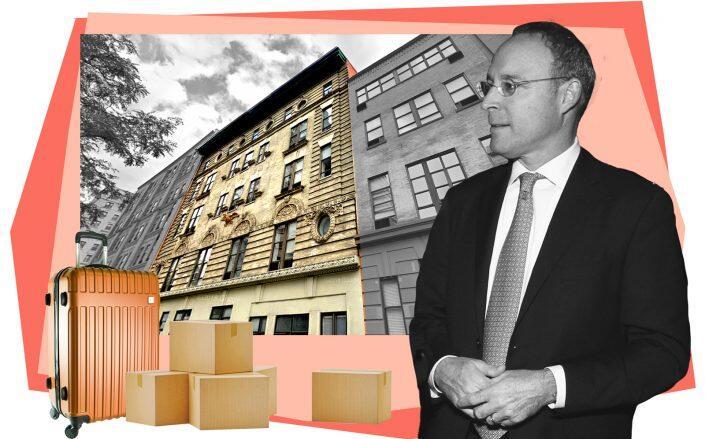 215 West 84th Street and Naftali Group CEO Miki Naftali (Google Maps, Getty)