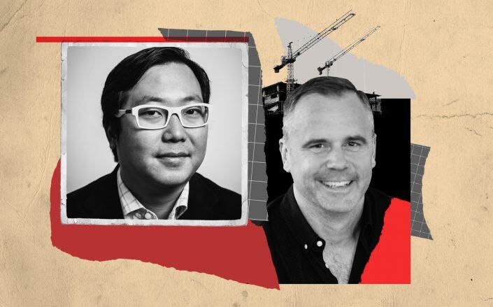 Social Construct's co-founders Ben Huh and Michael Yarne (iStock)