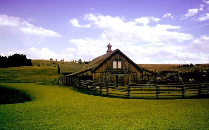 Marlboro Ranch in Montana (Crazy Mountain Ranch)