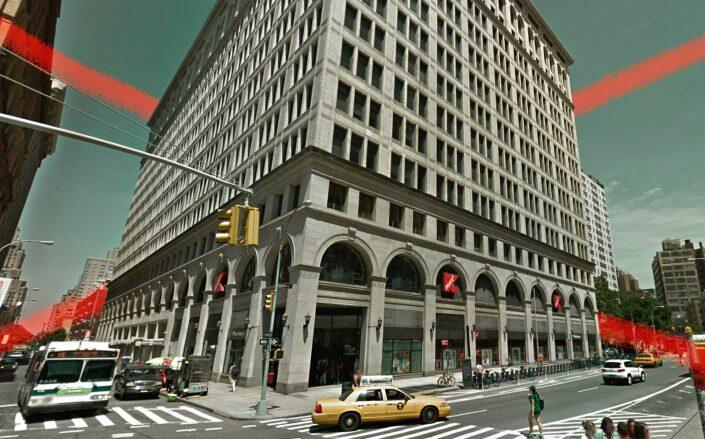 The Astor Place Kmart location (Google Maps)