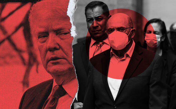 Donald Trump and Allen Weisselberg (Getty)