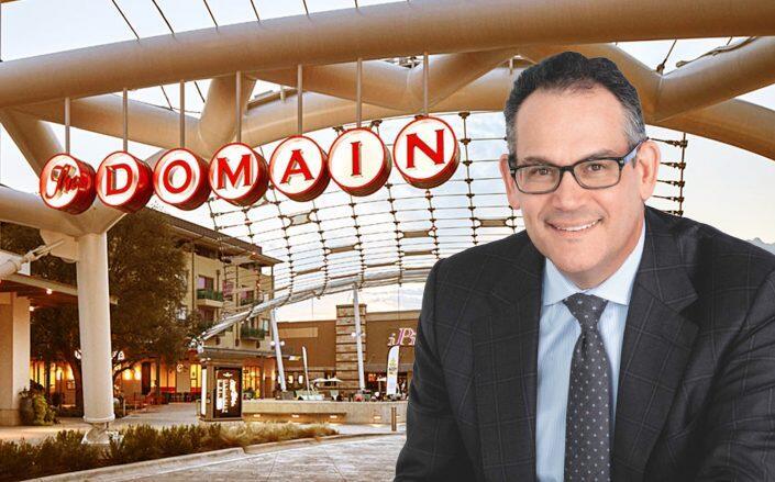 The Domain in Austin with Simon Property Group CEO David Simon (Simon Property)