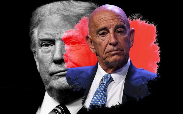 Donald Trump and former Colony Capital CEO Tom Barrack (Getty)